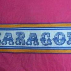 Coleccionismo deportivo: BUFANDA SCARF FUTBOL REAL ZARAGOZA. Lote 49545640