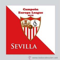 Coleccionismo deportivo: AZULEJO 15X15 DEL SEVILLA CAMPEÓN DE LA UEFA 2015. Lote 49553074