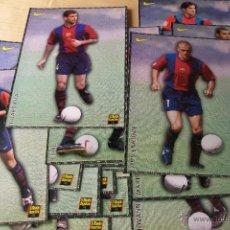 Coleccionismo deportivo: 28 LÁMINAS COLECCIONABLES JUGADORES DEL BARÇA AÑOS 90. Lote 49647720