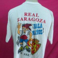 Coleccionismo deportivo: CAMISETA REAL ZARAGOZA CONMEMORATIVA 10-5-95 RECOPA DE EUROPA. PARIS.. Lote 27710536