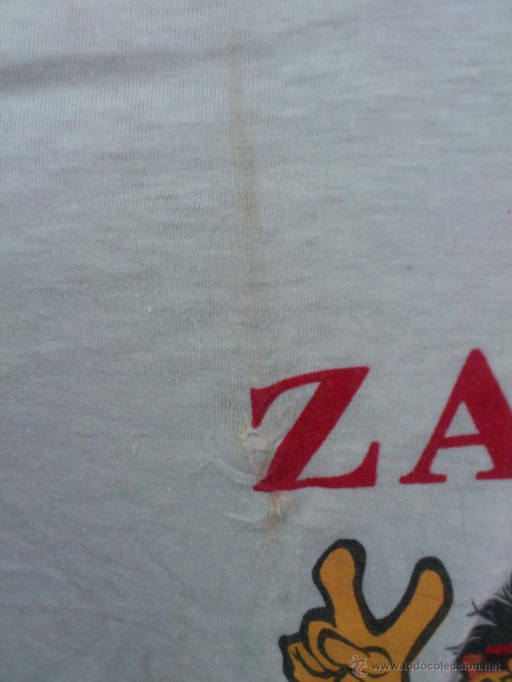 Coleccionismo deportivo: CAMISETA REAL ZARAGOZA CONMEMORATIVA 10-5-95 RECOPA DE EUROPA. PARIS. - Foto 5 - 27710536