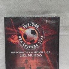 Coleccionismo deportivo: DVD HISTORIA DE LA MEJOR LIGA DEL MUNDO - DI STEFANO CONTRA KUBALA 1950-1955 - SIN ABRIR. Lote 49955580