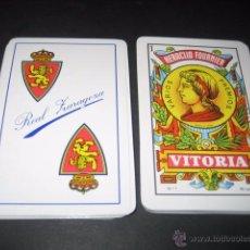 Coleccionismo deportivo: BARAJA ESPAÑOLA FOURNIER. FUTBOL REAL ZARAGOZA. Lote 49969309