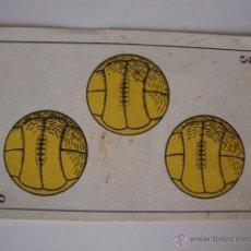 Coleccionismo deportivo: CHOCOLATES AMATLLER, AÑOS 20/30 CARTA COLECCION FUTBOLISTA JUGADORES FUTBOL. Lote 50084868
