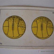 Coleccionismo deportivo: CHOCOLATES AMATLLER, AÑOS 20/30 CARTA COLECCION FUTBOLISTA JUGADORES FUTBOL. Lote 50084907