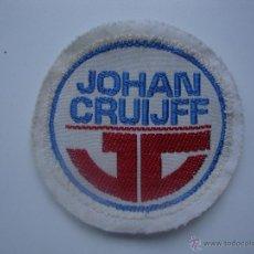 Coleccionismo deportivo: ESCUDO PARCHE TELA MARCA DEPORTIVA JOHAN CRUIFF. Lote 63883409