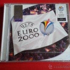 Coleccionismo deportivo: CD NUEVO PRECINTADO OFICIAL EUROCOPA EURO 2000 UEFA 21 TEMAS. Lote 50217287