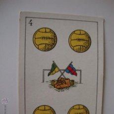 Coleccionismo deportivo: CHOCOLATES AMATLLER, AÑOS 20/30 CARTA COLECCION FUTBOLISTA JUGADORES FUTBOL. Lote 50084908
