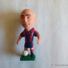 Coleccionismo deportivo: MUÑECO PVC GOMA (TAMAÑO 9 CM. APROX. ALTURA) DE LA PEÑA FC BARCELONA TEMPORADA 1996 1997. Lote 50578688
