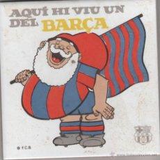 Coleccionismo deportivo: BALDOSA DEL FUTBOL CLUB BARCELONA - RAJOLA FUTBOL CLUB BARCELONA - BARÇA F.C.B. AVI DEL BARÇA. Lote 50725073