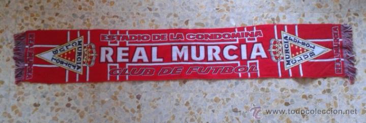 BUFANDA SCARF REAL MURCIA HINCHAS ULTRAS SUPPORTERS DIFICIL! ED-1 (Coleccionismo Deportivo - Merchandising y Mascotas - Futbol)