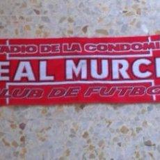 Coleccionismo deportivo: BUFANDA SCARF REAL MURCIA HINCHAS ULTRAS SUPPORTERS DIFICIL! ED-1. Lote 142393292