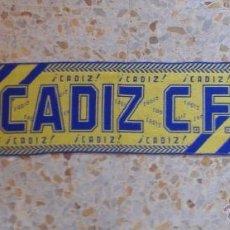 Coleccionismo deportivo: BUFANDA SCARF CADIZ C.F. HINCHAS ULTRAS SUPPORTERS ED-8. Lote 97929735