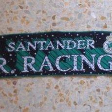 Coleccionismo deportivo: BUFANDA SCARF REAL RACING CLUB SANTANDER HINCHAS ULTRAS SUPPORTERS DIFICIL ED-27. Lote 58480797