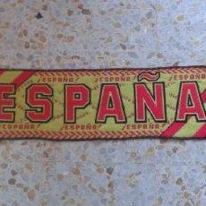 Coleccionismo deportivo: BUFANDA SCARF ESPAÑA SPAIN LA ROJA ULTRAS HINCHAS SUPPORTERS FUTBOL ED-52. Lote 50791834