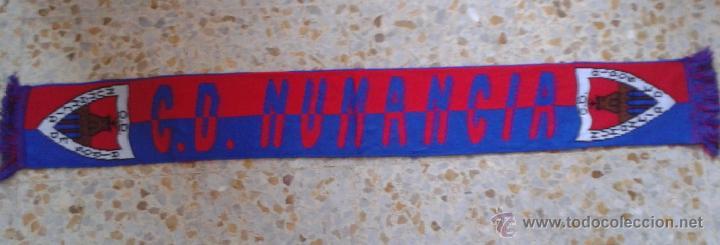 BUFANDA SCARF C.D NUMANCIA ULTRAS HINCHAS SUPPORTERS DIFICIL!! ED-70 (Coleccionismo Deportivo - Merchandising y Mascotas - Futbol)