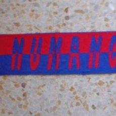 Coleccionismo deportivo: BUFANDA SCARF C.D NUMANCIA ULTRAS HINCHAS SUPPORTERS DIFICIL!! ED-70. Lote 145596758