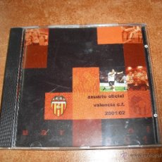 Coleccionismo deportivo: CD ANUARIO OFICIAL VALENCIA CLUB DE FUTBOL TEMPORADA 2001 2002. Lote 51196432