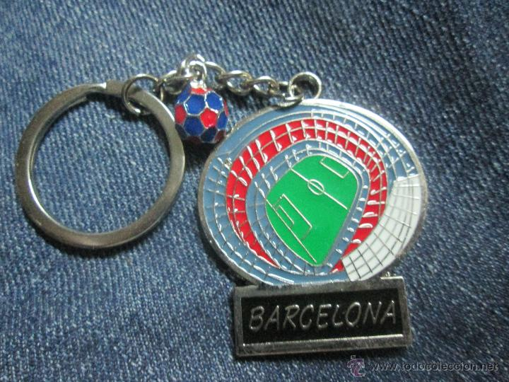 LLAVERO F C BARCELONA BARÇA CAMP NOU (Coleccionismo Deportivo - Merchandising y Mascotas - Futbol)