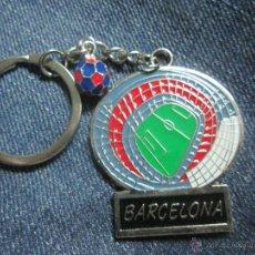 Coleccionismo deportivo: LLAVERO F C BARCELONA BARÇA CAMP NOU. Lote 51392794
