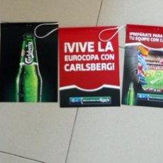 Coleccionismo deportivo: COLGANTES FUTBOL EUROCOPA 2012 UEFA EURO CERVEZA CARLSBERG BEER FOOTBALL ESPAÑA. Lote 51464383
