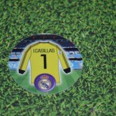 Coleccionismo deportivo: TAZO MATUTANO FUTBOL REAL MADRID IKER CASILLAS. Lote 51482102