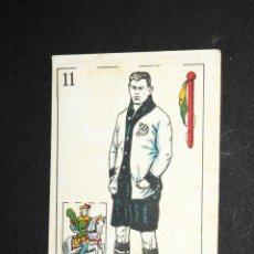 Coleccionismo deportivo: CARTA NAIPE CHOCOLATE AMATLLER CABALLO DE BASTOS CROS C.D.EUROPA. Lote 51507072