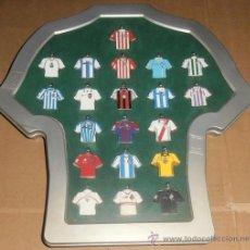 Coleccionismo deportivo: COLECCION 20 LLAVEROS - LAS CAMISETAS DE LA LIGA - 2002/03 - MARCA. Lote 51555774