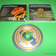 Coleccionismo deportivo: ¡ VAMOS CAMPEONES ! - CD - EL DISCO OFICIAL CON LOS HIMNOS DE LA GRADA - REAL MADRID CLUB DE FUTBOL. Lote 56893689