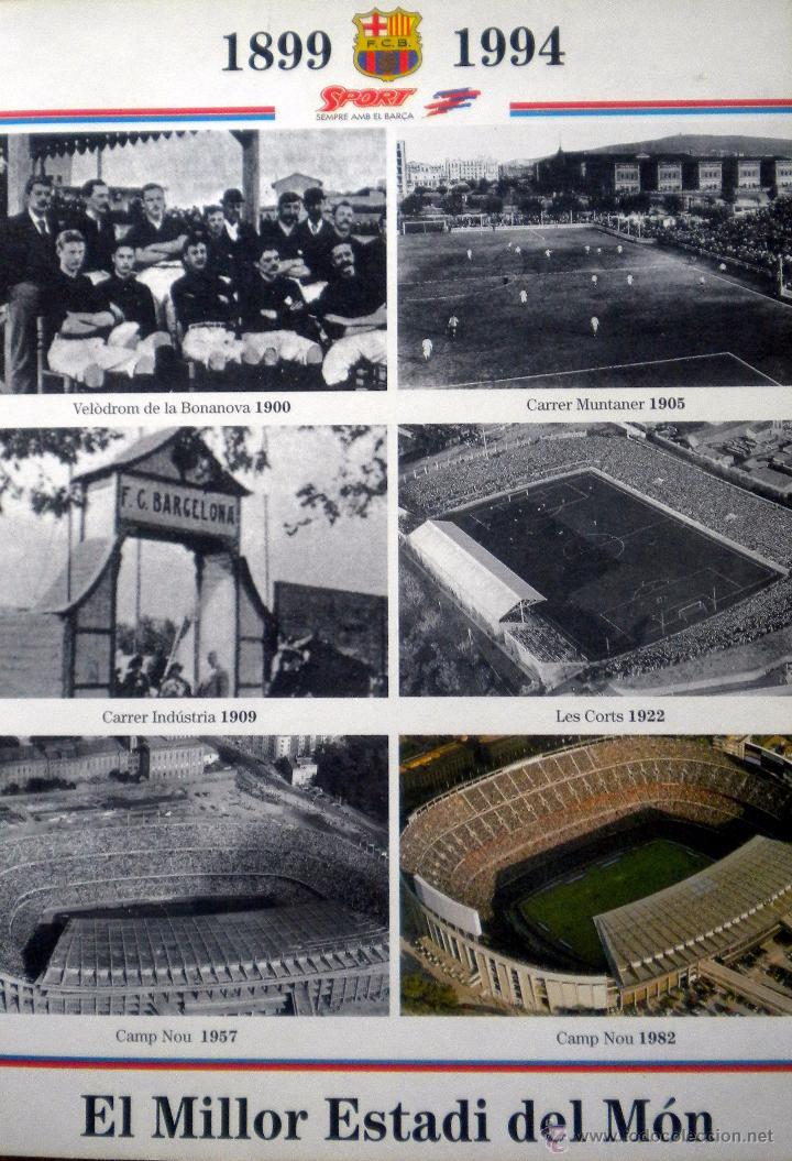 Coleccionismo deportivo: MAQUETA CAMP NOU F.C. BARCELONA - Foto 2 - 51719629