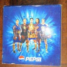 Coleccionismo deportivo: RELOJ PROMOCIONAL DE 2004 PEPSI - MEDIEVAL FIGHT CON BECKHAM, RONALDINHO, ROBERTO CARLOS, FERNANDO T. Lote 52306452