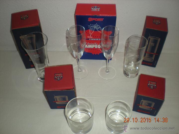 Coleccionismo deportivo: Colección Vasos Del Barça (Diario Sport) INCOMPLETA - Foto 3 - 52432265