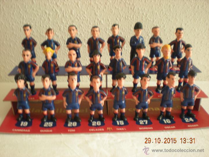 COLECCIÓN COMPLETA LAS FIGURAS DEL BARÇA (EL MUNDO DEPORTIVO) (1995) (Coleccionismo Deportivo - Merchandising y Mascotas - Futbol)