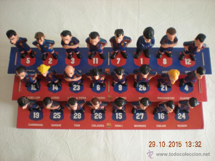 Coleccionismo deportivo: Colección Completa Las Figuras del Barça (El Mundo Deportivo) (1995) - Foto 2 - 52435710