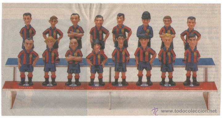 Coleccionismo deportivo: Colección Completa Las Figuras del Barça (El Mundo Deportivo) (1995) - Foto 3 - 52435710