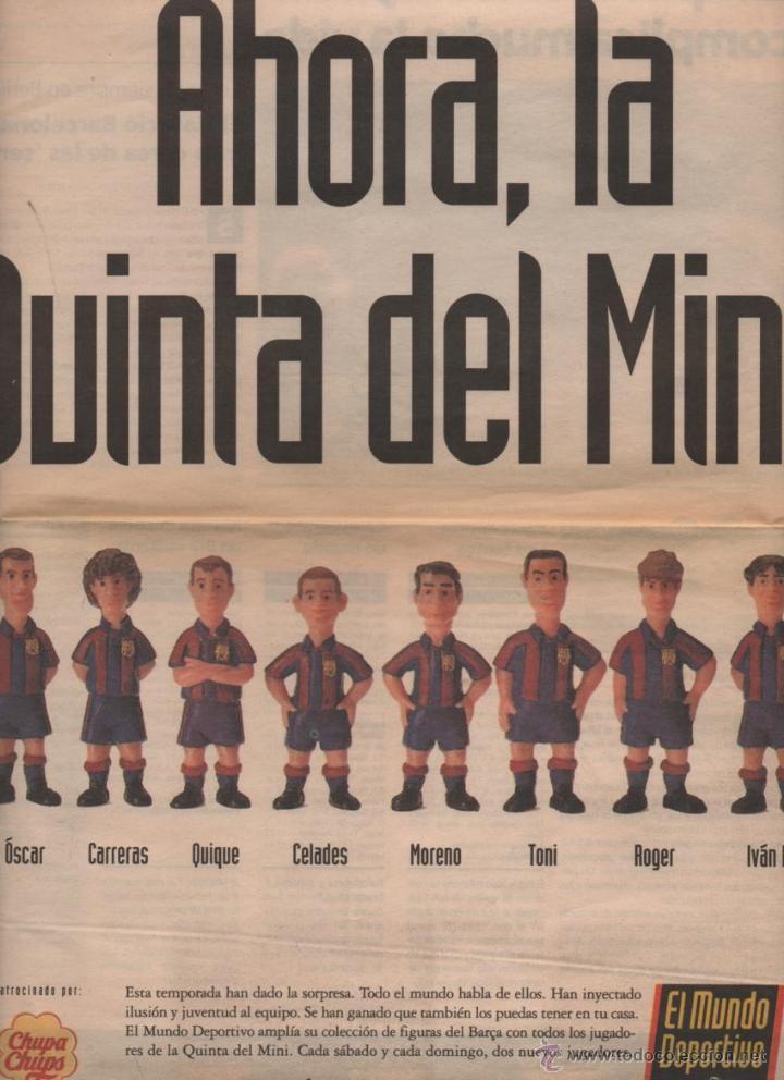 Coleccionismo deportivo: Colección Completa Las Figuras del Barça (El Mundo Deportivo) (1995) - Foto 4 - 52435710