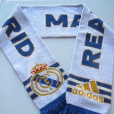 Coleccionismo deportivo: BUFANDA FUTBOL REAL MADRID C.F. - ORIGINAL ADIDAS.. Lote 52873047