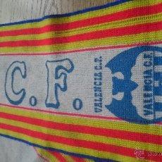 Coleccionismo deportivo: ANTIGUA BUFANDA VALENCIA CLUB DE FUTBOL. Lote 52941366
