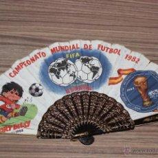 Coleccionismo deportivo: ABANICO DEL CAMPEONATO MUNDIAL DE FÚTBOL 1982 FIFA ESPAÑA CON SPORT BILLY. Lote 53176069