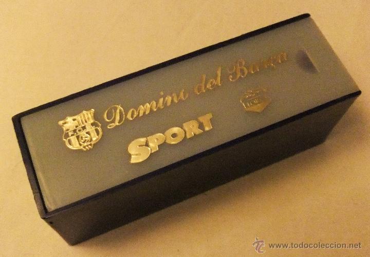 Coleccionismo deportivo: DOMINÓ DEL BARÇA PRODUCIDO POR EL DIARIO SPORT - Foto 3 - 53374496