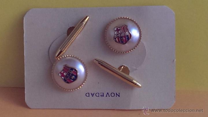 ANTIGUOS GEMELOS DEL F.C.BARCELONA (Coleccionismo Deportivo - Merchandising y Mascotas - Futbol)