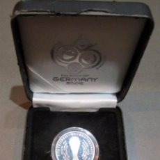 Coleccionismo deportivo: MONEDA FUTBOL ENTRADA MUNDIAL 2006 COIN TICKET FOOTBALL FIFA WORLD CUP GERMANY. Lote 53522682