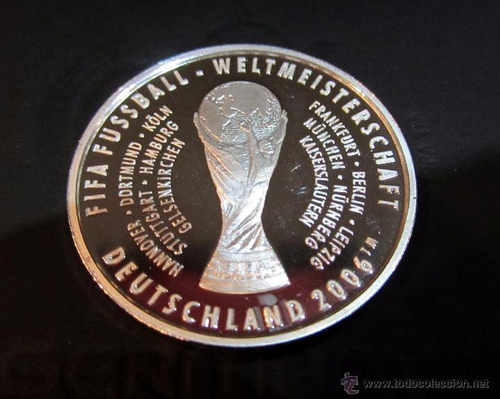 Coleccionismo deportivo: MONEDA FUTBOL ENTRADA MUNDIAL 2006 COIN TICKET FOOTBALL FIFA WORLD CUP GERMANY - Foto 3 - 53522682