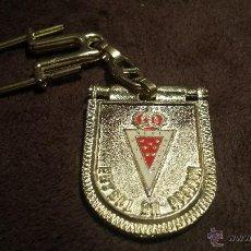 Coleccionismo deportivo: LLAVERO ESCUDO EQUIPO FUTBOL REAL CLUB MURCIA . Lote 53557478