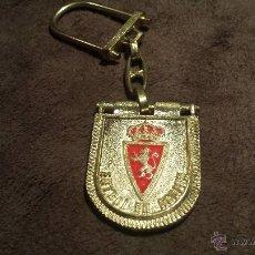 Coleccionismo deportivo: LLAVERO ESCUDO EQUIPO FUTBOL REAL ZARAGOZA. Lote 56712062