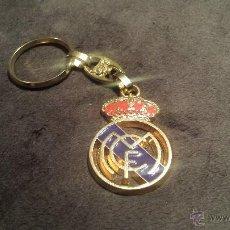 Colecionismo desportivo: LLAVERO CON ESCUDO EQUIPO FUTBOL REAL MADRID. Lote 53582164