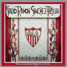 Coleccionismo deportivo: AZULEJO 20X20 DEL RAMÓN SANCHEZ PIZJUAN ( ESTADIO DEL SEVILLA). Lote 144908373