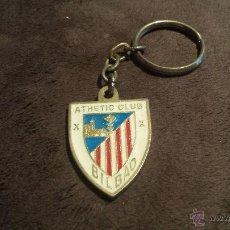Coleccionismo deportivo: LLAVERO ESCUDO EQUIPO FUTBOL ATHLETIC CLUB BILBAO . Lote 53646526