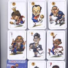Collectionnisme sportif: BARAJA ESPAÑOLA DEL BARÇA TRIOMFANT. Lote 114681718