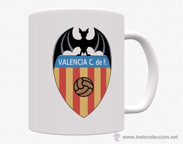 TAZA VALENCIA CF (Coleccionismo Deportivo - Merchandising y Mascotas - Futbol)